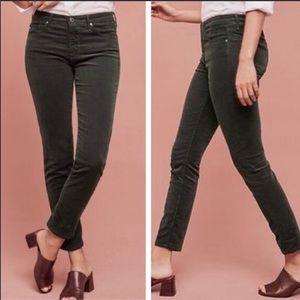 AG Adriano Goldschmied Stilt Skinny Corduroy Jeans